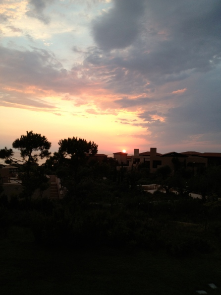 A Greek Sunset in Costa Navarino- Poloponnese